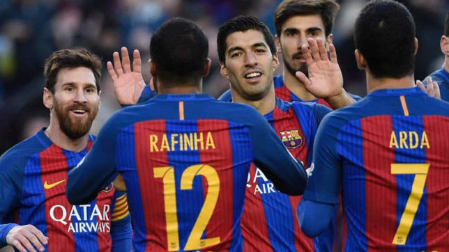 Catalan football clubs including Barcelona will not play in Spain if independence happens