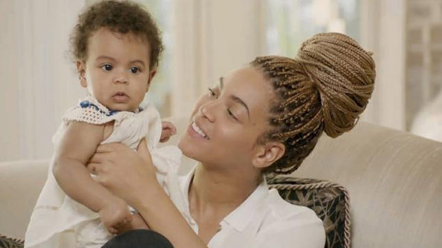 When Blue Ivy stepped into Beyonce's pink shoes
