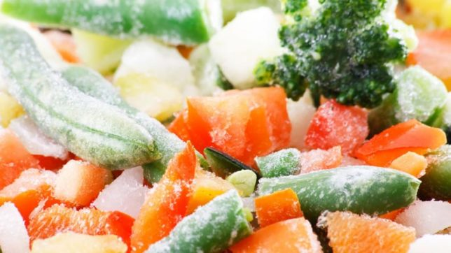 Opt for frozen food for stress-free meals