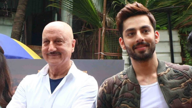 Himansh Kohli had 'best experience' working with Anupam Kher