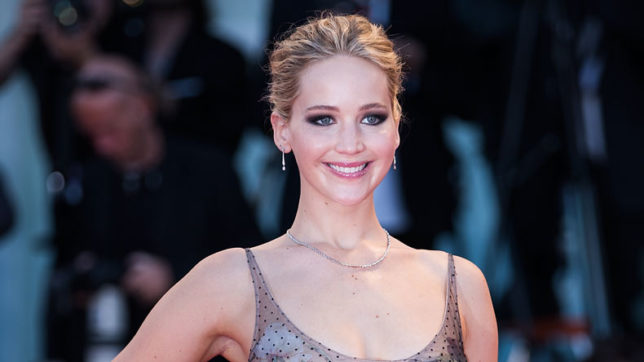 Jennifer Lawrence found her softer side while filming 'Mother!'