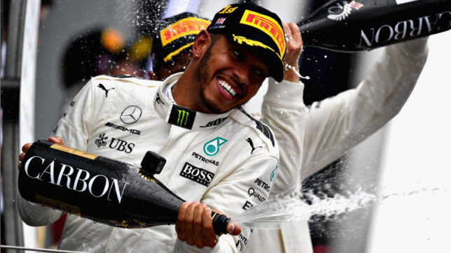 Mercedes driver Lewis Hamilton takes pole for record 69th time