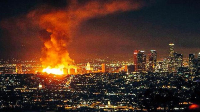 Largest Los Angeles wildfire 'fully' contained