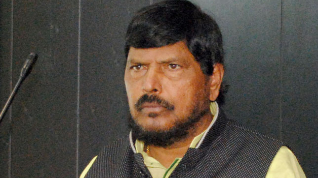 Give quota to upper castes: Minister Ramdas Athawale
