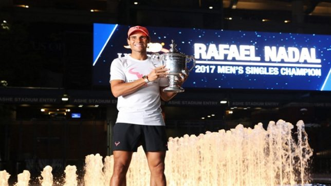 Rafael Nadal continues to top ATP rankings after claiming US Open title