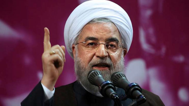 Iranian President Rouhani fights back at Trump over nuclear deal