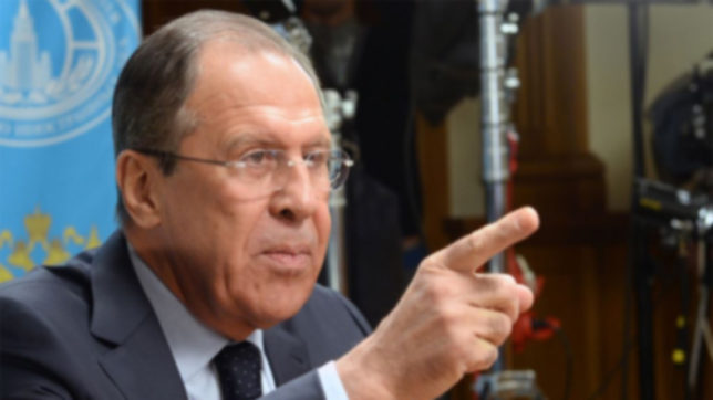 Sergei Lavrov: Terrorists must be 'obliterated' in Syria