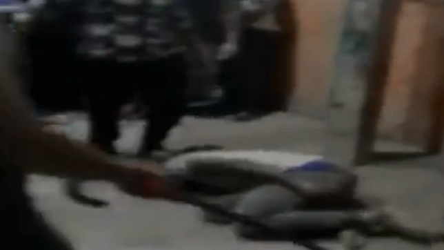 Caught on Cam: Another incident of African man beaten by neighbours in South Delhi