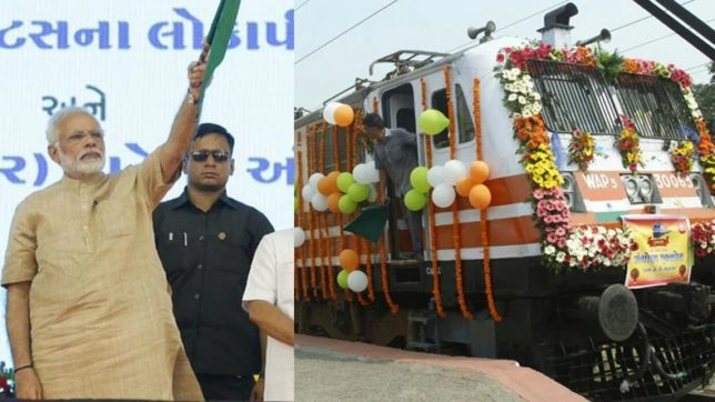 PM Modi flags off Antyodaya Express: All you need to know about this flagship train