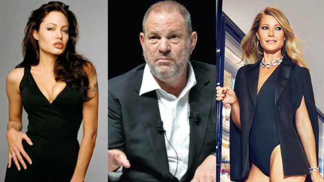 Gwyneth Paltrow, Angelina Jolie accuse Harvey Weinstein of casting couch