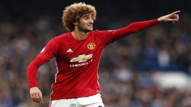 Manchester United's Marouane Fellaini sustains knee injury ahead of crucial Liverpool encounter