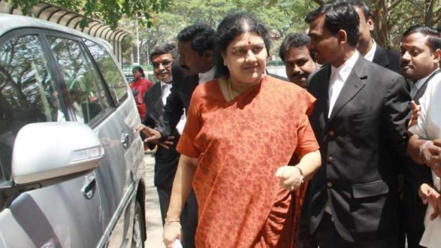Sasikala's parole approved, expected to be out of jail by 12:30PM today: Sources to NewsX