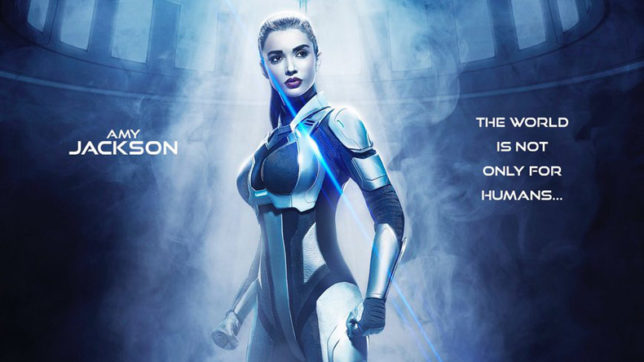 Revealed! Amy Jackson's stunning look from Rajinikanth's 2.0
