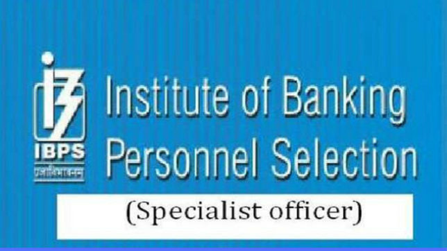 Application process for IBPS SO 2018 to start from November 7 @ ibps.in