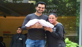Esha Deol announces her second pregnancy with an adorable photo of Radhya, see photo