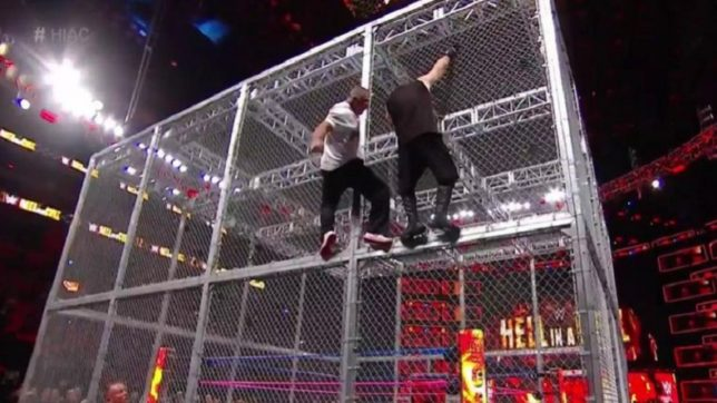 WWE Hell in a Cell: Kevin Owens survives Shane McMahon scare courtesy of Sami Zayn