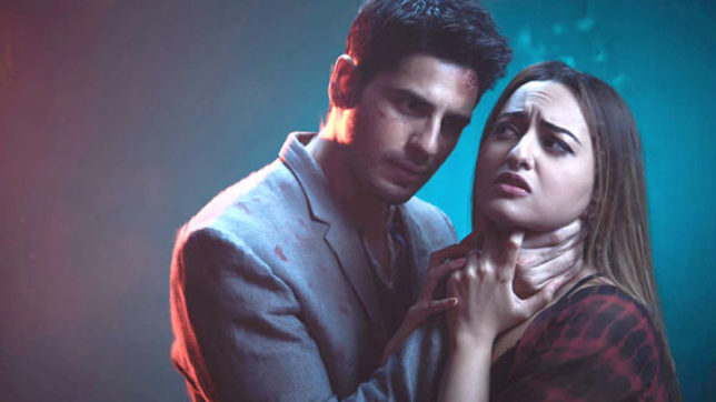 Sonakshi Sinha, Sidharth Malhotra starrer 'Ittefaq' trailer garners 11 Million views within a day
