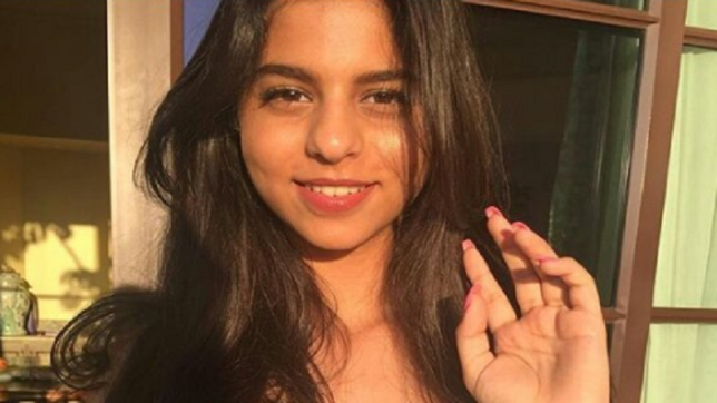 Check out Suhana Khan's latest pool picture trending on Instagram
