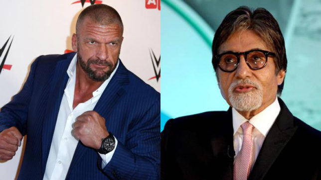 Watch! Triple H dons Amitabh Bachchan's iconic dialogue from Shahenshah