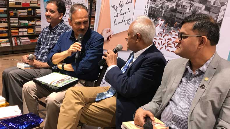 Author Bill Koul launches three books in India
