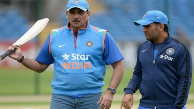Some jealous people waiting to see end of Dhoni's international career: Ravi Shastri