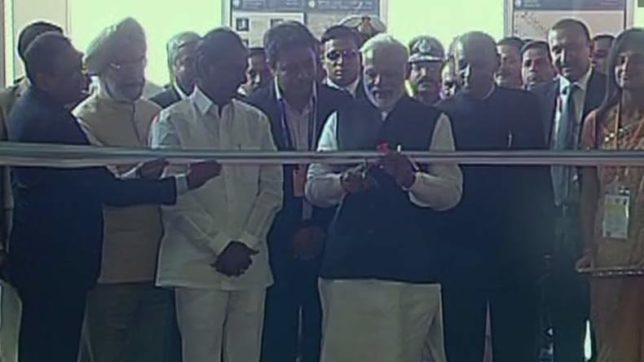 Happy Metro Hyderabad! PM Narendra Modi inaugurate Hyderabad Metro