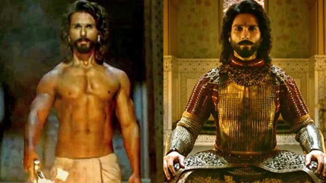 Find out what Shahid Kapoor did to get that fab body for Padmavati