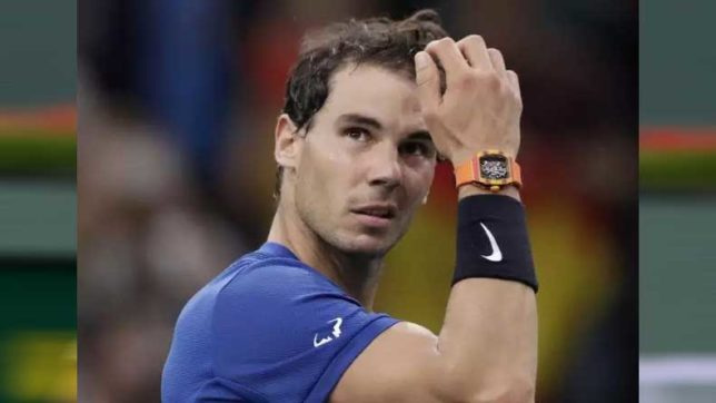 Rafael Nadal pulls out of ATP Finals after defeat by David Goffin