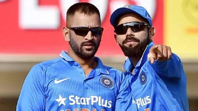 Virat Kohli comes to MS Dhoni's rescue; asks critics to stop targetting former skipper because of his age