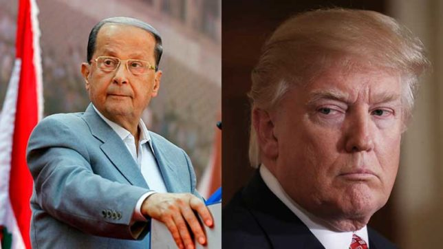 Decision on Jerusalem damages US credibility as peace sponsor: Lebanon President Michel Aoun
