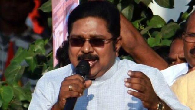 Image result for TTV Dinakaran's mouth talks again!
