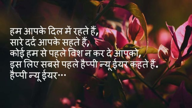 Happy New Year 2018 Shayari In Hindi: WhatsApp Messages, SMS, Facebook  Posts For Friends And Loved Ones