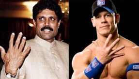 Kapil Dev and Amitabh Bachchan's picture on John Cena's Instagram drives people crazy