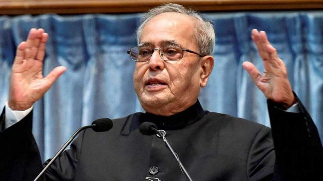 Build an educational ecosystem comparable with the best: Pranab Mukherjee