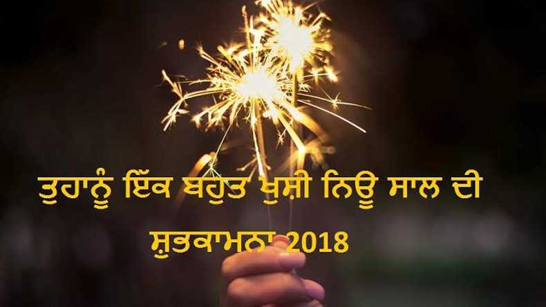Happy new year messages and wishes in punjabi for 2018 whatsapp happy new year wishes and messages in punjabi m4hsunfo