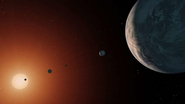 Did our solar system form in bubbles produced by massive, long-dead star?
