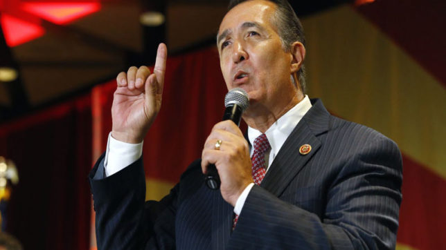 Another US Congressman Trent Franks to resign over sexual harassment claim
