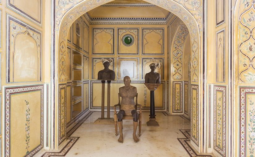 Nahargarh Fort turns into a contemporary art gallery.