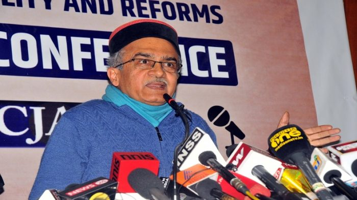 Prashant Bhushan files complaint against CJI, requests senior judges to hold enquiry