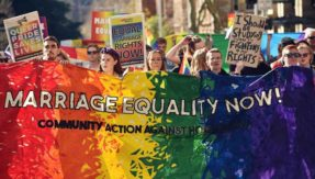 Australia witnesses its first gay marriage