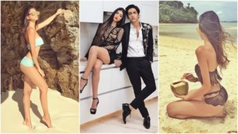 Bollywood actor Chunky Pandey's niece Alanna Panday is setting the internet on fire with her super hot and sizzling photos