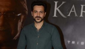 Mumbai: Actor Emraan Hashmi during the screening of film