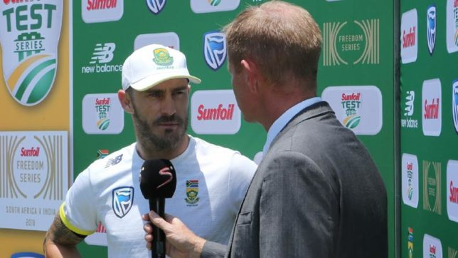 Relying too much on Kohli cost India the series, says Faf du Plessis after series triumph