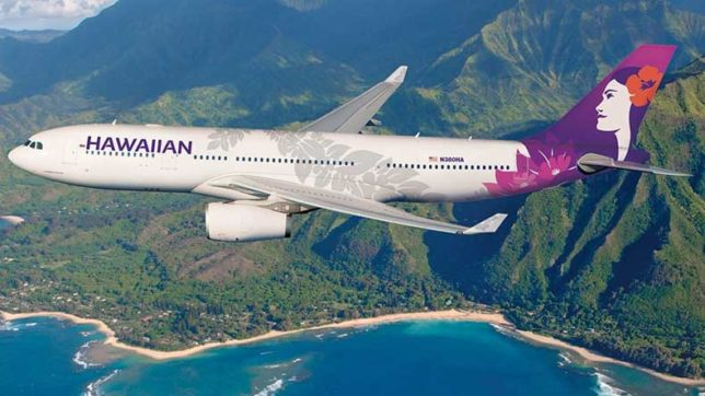 Time travel? Hawaiian Airlines flight that took off in 2018 and landed in 2017
