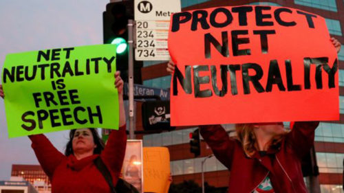 Big tech giants in US join legal battle against net neutrality revocation
