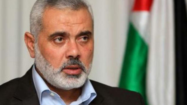 Hamas leader Ismail Haniyeh calls for new Palestinian strategy following Trump's Jerusalem move