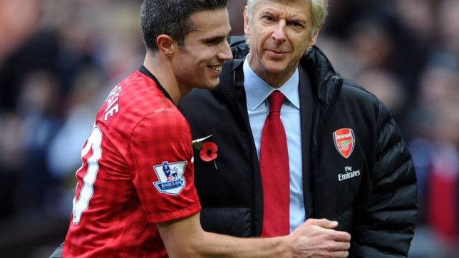 Robin Van Persie reveals why he will always have admiration for Arsenal boss Arsene Wenger