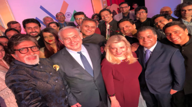 Bollywood thanks Israeli PM Netanyahu; clicks an Oscar-inspired selfie