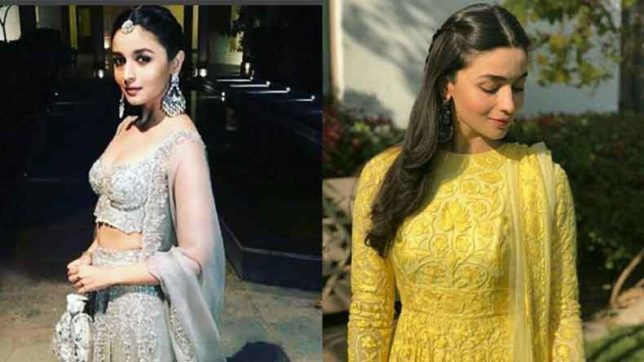 Alia Bhatt in her traditional best at Kripa Mehta's wedding in Jodhpur