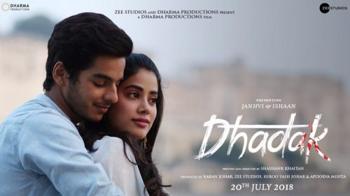 Dhadak new poster: Janhvi Kapoor, Ishaan Khatter's adorable chemistry will touch your heart